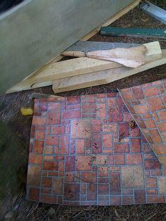 Colonial Brick Armstrong Laminate Laminate Brick Red
