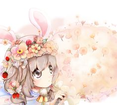 candy, flower, 솜사탕, 부케,   미소녀 라는 느낌  핀터레스트 한다고 한다고 미뤄 뒀지만   시작을 장식하는 그림 Anime, Cartoon Movies, Anime Music, Animation, Anime Shows