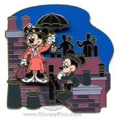 disney chimney sweeps collector's pin
