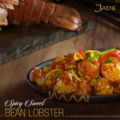 Coastal cravings anyone? Satiate your love for the Orient with the Spicy Sweet Bean Lobster at Jade.
