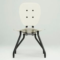 Tomas Libertiny's design studio used multiple body casts to dictate the shape of this seat