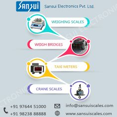 Sansui Electronics India largest Digital and Electronic weighing Scales Manufacturer and Supplier. As well as we provide Taximeter,crane scale and Weighbridge Jewelry Scale, Weighing Scale, Taxi, Crane, Electronics, Digital, Scale, Virgos, Libra