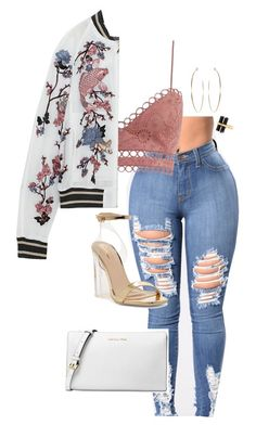 """Untitled #711"" by sapphirecavill on Polyvore featuring Zimmermann, House of Harlow 1960 and Michael Kors"