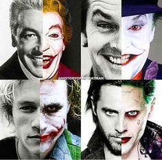 Many faces of the joker