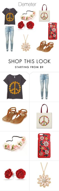 """""""Percy Jackson: Demeter"""" by peytondodson on Polyvore featuring Off-White, Dolce&Gabbana, Bling Jewelry and Mixit"""