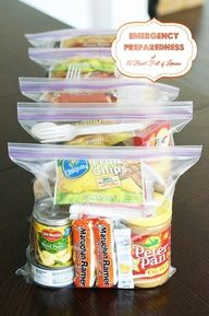 72 hour kit for emergency preparedness Homemade MRE