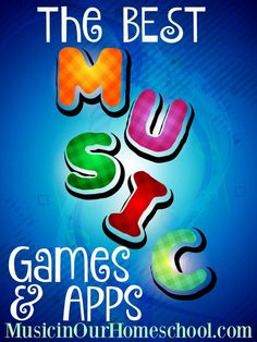 The BEST Music Games and Apps #musiceducation #musicgames #musicgamesmusiceducation #musicinourhomeschool