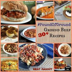 Pound of Ground Recipes   Aunt Bee's Recipes