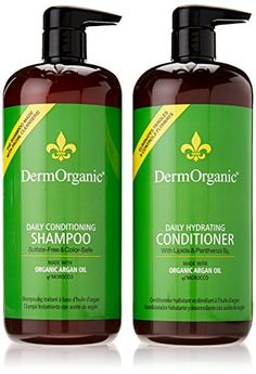 Dermorganic Shampoo and Conditioner Duo -- You can find more details by visiting the image link.