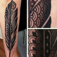 tribal tattoo design on arm – best feather tattoo ideas for male Tattoo Plume, Feather Tattoo Arm, Hawk Tattoo, Feather Art, Feather Design, Henna Feather, Feather Texture, Tribal Feather, Trendy Tattoos