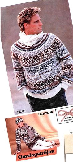 Easy Sweater Knitting Patterns Patterns for pullovers, cardigans and vests which were rated straightforward by their designers and/or your fellow knitters. To get the knitting patte. Knit Dog Sweater, Nordic Sweater, Hand Knitted Sweaters, Men Sweater, Easy Sweater Knitting Patterns, Fair Isle Knitting Patterns, Norwegian Knitting, Vintage Knitting, Free Knitting