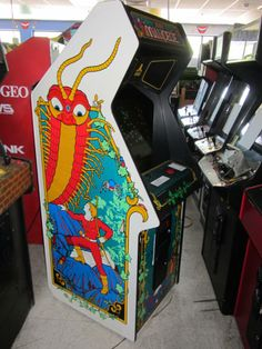 xybots arcade game by #atari from $550.0 | Arcade Cabinets ...