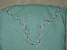 Viking Embroidery - Acanthus vine neckline