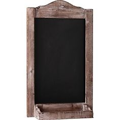 Vintage Chalkboard Frame via PS