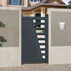 emalu antilles gamme de portails en aluminium disponible en 6 coloris blanc gris bleu. Black Bedroom Furniture Sets. Home Design Ideas