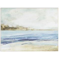 Turn any space into a seaside retreat with our beautiful wall decor. Painted on wood, the image creates a window to the ocean, adding warmth and tranquility to any room.