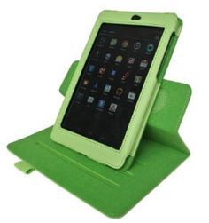 Just found this Google Nexus 7 leather case on Amazon for less than $5.  (CLICK IMAGE)