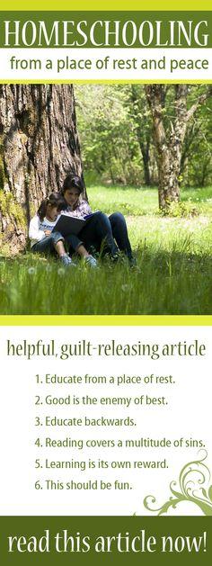 Get #homeschool encouragement NOW! via hedua.com/blog