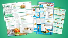 The ketogenic diet is the biggest weight loss trend that ever happend. BIGGER than paleo BIGGER than atkins BIGGER than everything else Ketogenic Diet Plan, Keto Meal Plan, Diet Meal Plans, Ketogenic Recipes, Keto Foods, Free Keto Recipes, Easy Recipes, Soup Recipes, Salad Recipes