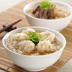 Wonton Noodle is pronounced like this in Cantonese - wan-tan min, So now you know how to order your Noodles now.