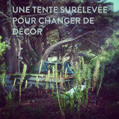 La tente surélevée Kamprite pour dormir partout