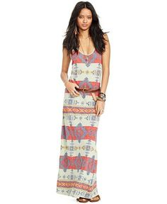 Denim & Supply Ralph Lauren Southwestern-Print Maxi Dress, Coba Beacon