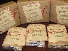 A Love for Teaching: Parent Helper Gifts!