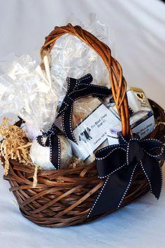 Soap gift basket