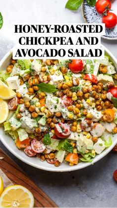 Healthy Salad Recipes, Veggie Recipes, Whole Food Recipes, Diet Recipes, Healthy Snacks, Healthy Eating, Cooking Recipes, Healthy Summer Recipes, Healthy Salads For Dinner