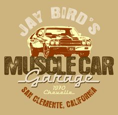 Personalized version of the MUSCLE CAR Garage.