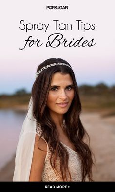 Planning on getting a spray tan before your wedding? Read this guide to get flawlessly bronze skin as a bride! These tips will ensure your tan lasts through your honeymoon (and won't rub off on your wedding gown)!