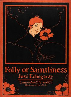 Ethel Reed, Folly or Saintliness, 1895, heliotype on paper, Smithsonian American Art Museum, Gift of Ms. S. Lavine