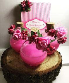 Pembe sevenlere nikah şekeri hediyesi gelin hamam seti 💕