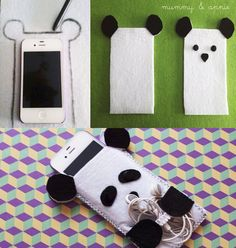 Creative DIY and cute😊 Felt Phone Cases, Diy Phone Case, Iphone Cases, Phone Cover, Felt Case, Capas Kindle, Pochette Portable, Hipster Phone Wallpaper, Ipad Accessories