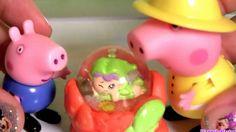 Play Doh Peppa Pig Fairground Ride Game Merry Go Round Mummy Daddy Georg...