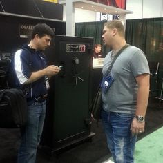 Jim & Nick at the Barrett booth Shot Show, Trials And Tribulations, Over The Years