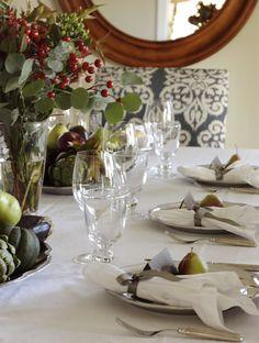 In Good Taste: Thanksgiving Tablescape
