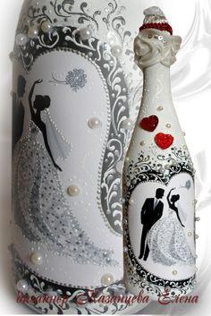 Malarstwo i decoupage butelki przez projektanta Elena Kuznetsova .. Dyskusja na liveinternet - Pamiętniki rosyjskie usługi online