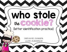 Practice letter identification with this interactive alphabet game! Students have to search for the cookie behind letters as they name them! How fun! Place these in literacy centers or use it as a small group game!