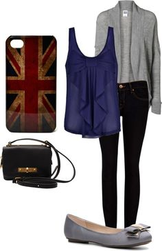 Simple Outfit for school by ...