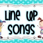 What a fun way to get your class lined up quickly and quietly! This compilation of 24 Songs and Chants makes lining up fun and easy. They come on 6...