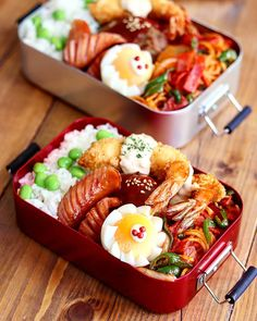 Lunch Meal Prep, Healthy Meal Prep, Japanese Snacks, Japanese Food, Cute Food, Yummy Food, Bento Recipes, Aesthetic Food, I Foods