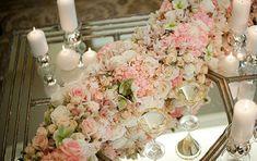 rosa chá decoração - Pesquisa Google
