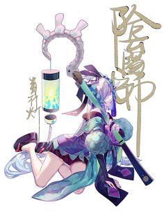 「青行灯」/「崎嶇」[pixiv] Female Character Design, Character Concept, Concept Art, Love Illustration, Character Illustration, Karma Y Nagisa, Anime Kunst, China Art, Manga Characters