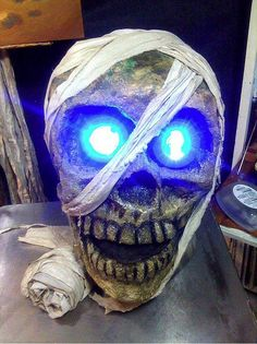 Halloween 2010 - Mummy Costume Process