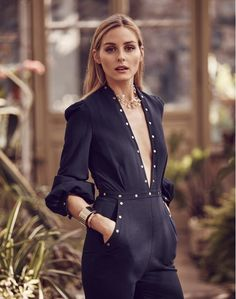 Olivia Palermo's Shoot for Bauble Bar