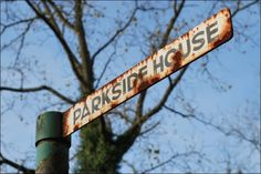 Parkside House sign Marilyn rented Parkside House in  Englefield Green Surrey England while filming The Prince And The Showgirl