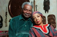 Ruby Dee and Ossie Davis at their home in New Rochelle, N.Y., in 1998..jpg