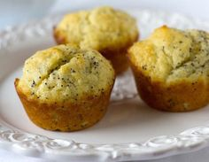 Fresh baked goods from the Midwest Coffee Roasting Company Marion Indiana | Lemon poppy seed muffins| where to eat Grant County Indiana