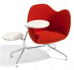 Instead of the traditional (boring) table and chairs for the conference room - great furniture 4 the brainstorming room :)